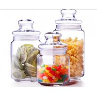 Buy cheap 500ml Glass Spicy Jar with Lid / Glass Storage Jars / Stock Glass Jars from wholesalers