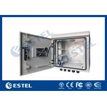 China 9U Outdoor IP55 Pole Mounted Cabinet For Communication Base Station wholesale
