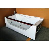 China Computerized 70 Inche Mini Indoor Hot Tub Single Person Hot Tub With 12 Massage Air Jets wholesale