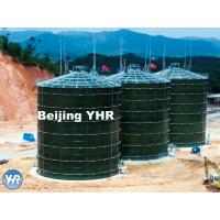 China 5000 M3 Anaerobic Digester Tank Glass Fused To Steel Material Fast Installation wholesale