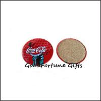 China Promotion customed tin cork coaster cup pads gift supplier printed logo wholesale