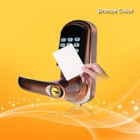 China Hotel Security Keyless Card Entry Door Locks Low Battery Voltage Warning wholesale