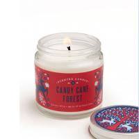 China Custom Scented Tin Candles Scented Soy Candle Container With Luxury Printed Box wholesale