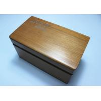 Quality Custom Vintage Wooden Tea Box , Personalised Wooden Tea And Coffee Box for sale