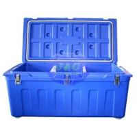 China LLDPE Roto Molded Plastic Products Insulated Fishing Boxes Rotomolded Cooler wholesale