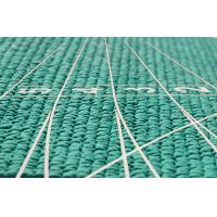 China Manufacturer of IAAF certified rubber athletic track 13mm green HDPD-B2 wholesale