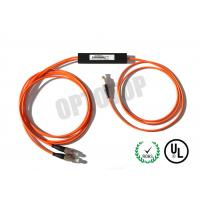 China FBT Single Mode Fiber Coupler  2 In 1 Out For Access Network / CATV wholesale