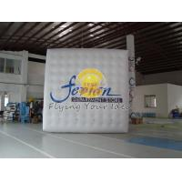 China Customized Inflatable advertising helium cube balloon with four sides digital printing wholesale