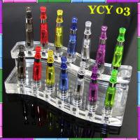 China 510 EGo Electronic Cigarette Accessories Acrylic E-Cig Display Green Health wholesale