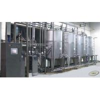 China Automatic CIP clean-in-place system / CIP Automatic Washing System for milk,juice  filling production line on sale