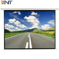 Buy cheap 4:3 Format 120 Inch Diagonal Remote Projection Projector Screen from wholesalers