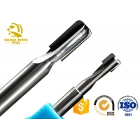 Buy cheap 2 Flutes Diamond Cnc Milling Cutter Carbide Tungsten End Mills With PCD Blade from wholesalers