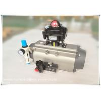 Buy cheap 304 STAINLESS STEEL WAFER BUTTERFLY VALVE PNEUMATIC ACTUATOR from wholesalers
