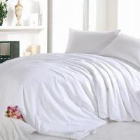 China Duvets, Covered with 100% Cotton, 100% Natural Silk Filling, Available in White wholesale