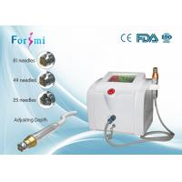 China Advanced fractional rf microneedle machine stretch mark removal beauty care equipment on sale
