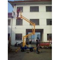 China 160 - 500kg Rated Load Towable Articulating Boom Lift With Hydraulic Cylinder wholesale
