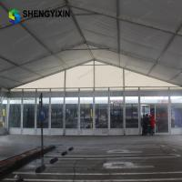 China high quality and high strength 6mx9m luxurious aluminum wedding party church tent for sale with white fabric on sale