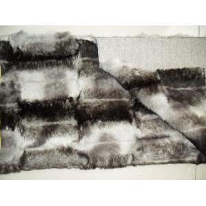fake wayfarer  printed fake fur