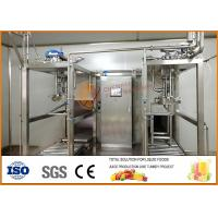 China SS304 Juice And Jam Double Heads Aseptic Filling Line wholesale