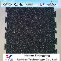 Buy cheap Anti-slip wear resistant colored EPDM rubber flooring recycled gym rubber floor from wholesalers