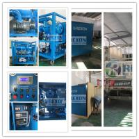 China Fully Enclosed Type Substation Field Use Vacuum Dielectric Oil Filtration Machine 6000 Liters/Hour on sale