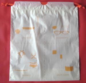 China Reusable Hotel Drawstring Plastic Bags For Bikinis / Swimsuits / Bathing Suit / Swimwear wholesale
