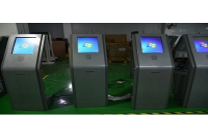 China RFID Reader Infrared Digital Signage 350nits With Thermal Printer wholesale