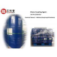 China Light Yellow 3 - Methacryloxypropyltrimethoxy Silane Coupling Agent CAS 2530 - 85 - 0 in water paint or cable wholesale