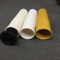 China Aramid Fibers PPS 5 Micron Glazed Finish Paint Filter Bags for Bag Filter wholesale