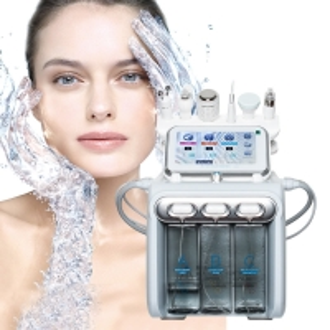 China Portable 6 Handles Skin Peeling Hydrafacial Microdermabrasion Machine wholesale