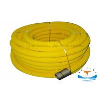 China Twill Weaving Marine Fire Fighting Equipment PVC Air Hose Reel Plug - In Structure wholesale