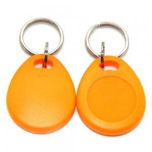 China Proximity LF RFID Key Fob Tag Keychain Read / Write For Hotel Door Mangement wholesale