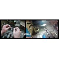 welding PCD and PCBN inserts