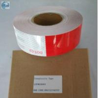 China Prismatic Reflective Trailer Tape Conspicuity Red White emergency Vehicle DOT Approved wholesale