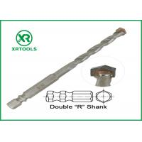 China Double R Hex Shank Metric Masonry Drill Bits Multi Purpose For Wood / Metal wholesale