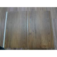 China High Strenth 25cm PVC Wall Panels For Showers Groove Design Wall Laminate Sheets wholesale