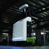Buy cheap 2000kg Electric Battery Agv Robot Forklift With Small Turning Radius from wholesalers