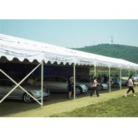 China Unique Canton Fair Exhibition Tent / Pvc Coated Polyester Fabric Sports Tent Shelter wholesale