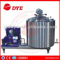 China DYE 1000L farm used  Vertical Craft milk tank For Bulk Milk, liquid chiller wholesale