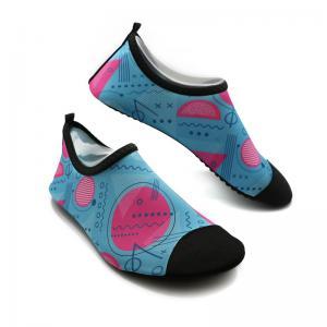 China Soft Ladies Swim Shoes Durable Ladies Aqua Beach Shoes BSCI Certification wholesale
