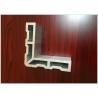 China Sandblast Al Extrusion Profile , LED Lighting Aluminium Industrial Profile wholesale
