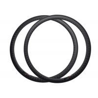 China 38mm Depth Carbon Fiber 700c Rims , Road Bike Wheel Rims 1 Year Warranty wholesale
