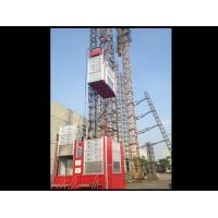 Buy cheap Construction Site Rack / Pinion Hoist And Lifting Equipment For Passenger / from wholesalers