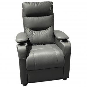 China Modern Leather Home Theater Sofa Seating Multi color with Recline Function wholesale