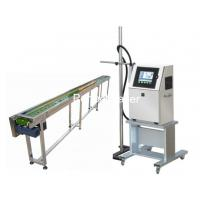 China Un - Contiguous Marking System Industrial Inkjet Printers / Egg Printing Machine on sale