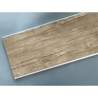 China Wood Color Plastic Laminate Wall Covering , Pvc Laminated Ceiling Board wholesale