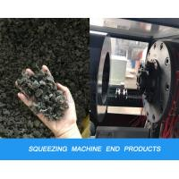 China PP PE Plastic Recycling Machine Film Squeezing Dewatering Dryer And Pelletizing Machine wholesale
