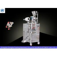 China Small Automatic Tea Bag Packaging Machine 1.1 Kw 380v For Triangle Shaped Tea Bags wholesale