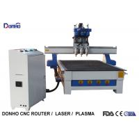 Buy cheap Three Spindles CNC 3D Router Machine , CNC Engraving Machine Computer Controlled from wholesalers