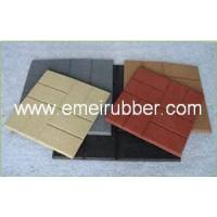 China swimming pool rubber tile rubber paver(BD-19) wholesale